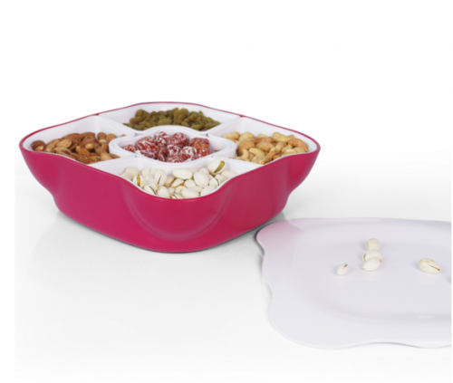 Creative Multi Sectional Snack Serving Tray'