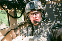 SSG Cory Griffin in Iraq
