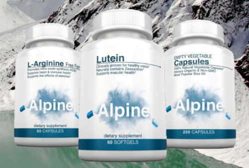 Alpine Nutrition Health Supplements'
