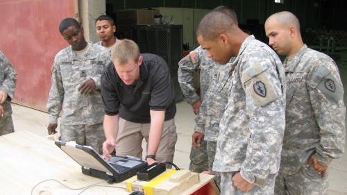Brad In Iraq'
