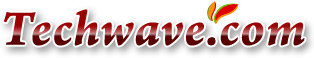 Logo for Techwave.com'