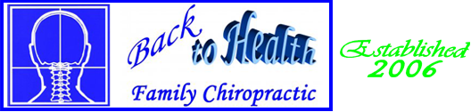 Back To Health Family Chiropractic, LLC Logo