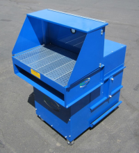 Portable downdraft booth