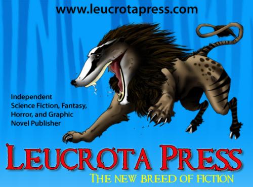 Logo for Leucrota Press'