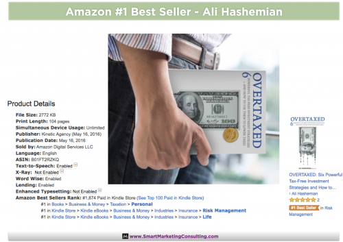 Amazon #1 Bestseller - OVERTAXED'