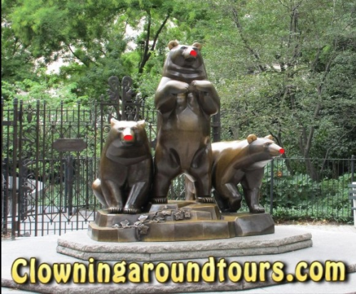Clowning Around Tours Central Park NYC'
