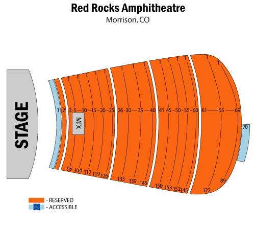Red Rocks Amphitheater'