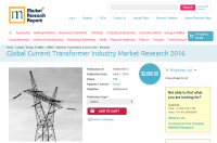 Global Current Transformer Industry Market Research 2016