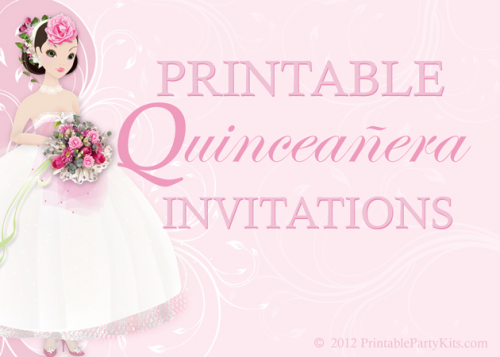 Printable Party Invitations'