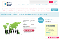 Professional Online Courses Market In India 2016 - 2020