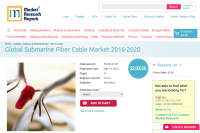 Global Submarine Fiber Cable Market 2016 - 2020