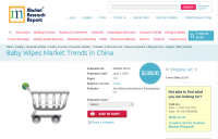 Baby Wipes Market Trends in China