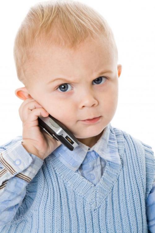 Children and cellphones: a health hazard'