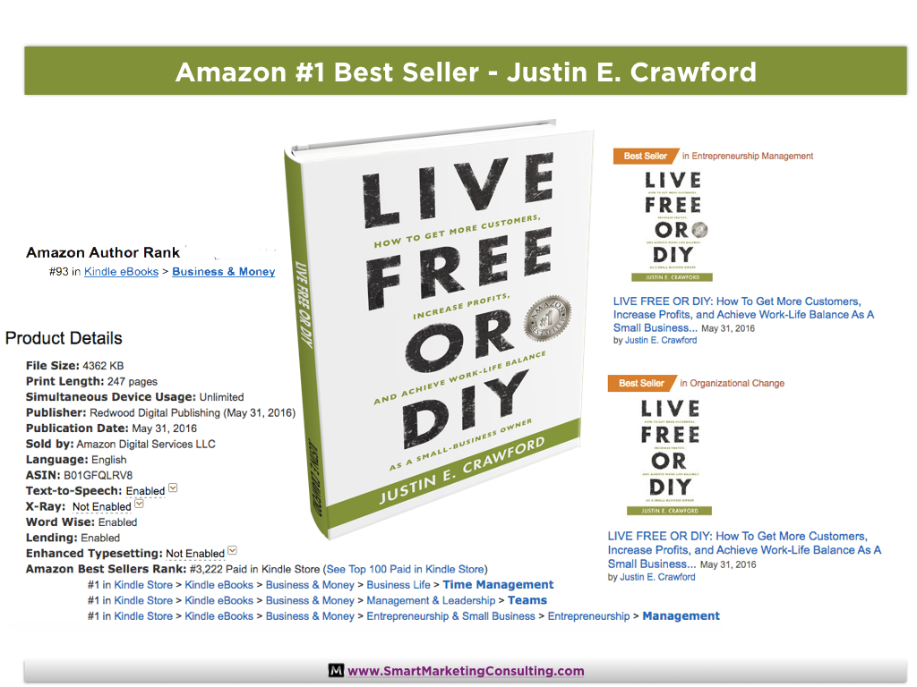 Life Free or DIY - Amazon #1 Bestseller