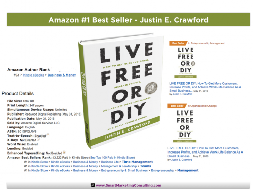 Life Free or DIY - Amazon #1 Bestseller'