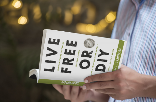 Amazon #1 Bestseller - Live Free or DIY'
