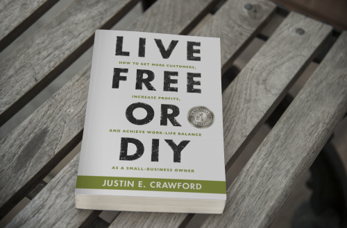 Amazon #1 Bestseller - Live Free or DIY'