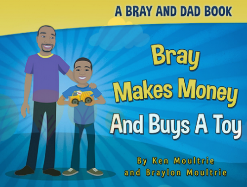 Bray Makes Money And Buys A Toy'