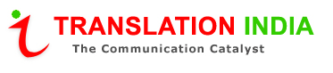 Logo for Translation India'