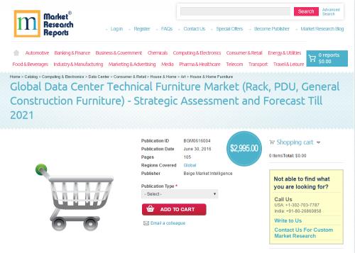 Global Data Center Technical Furniture Market'
