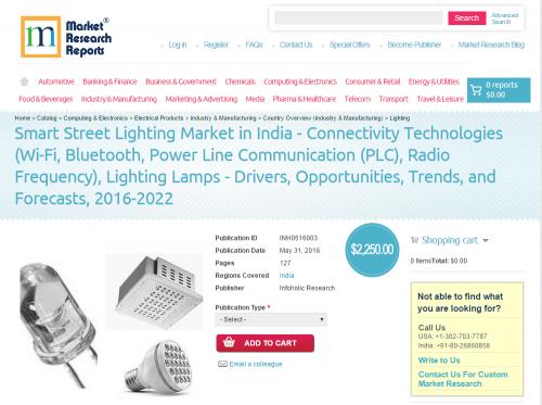 Smart Street Lighting Market in India'