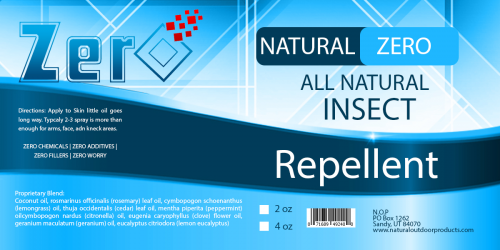 Zero Natural Insect Repellent'