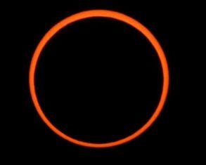 Sept 1, 2016 Annular Solar Eclipse'