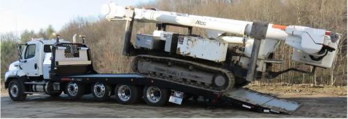Quad Axle Truck'