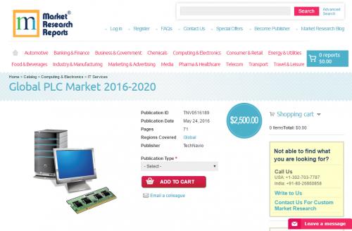 Global PLC Market 2016 - 2020'