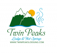 Twin Peaks Lodge & Hot Springs Logo