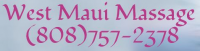 West Maui Massage Logo