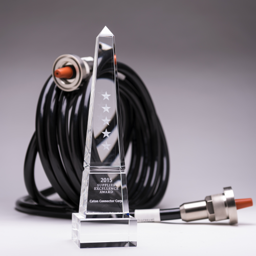 CATON CONNECTOR WINS 5-STAR  EXCELLENCE AWARD FROM RAYTHEON'