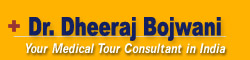 Logo for Dr. Dheeraj Bojwani - Health Tours Guru Of India'