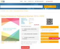 Global Industrial Packaging Market 2016 - 2020