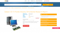 Global LCD TV Panels Industry 2016 Market Research Report