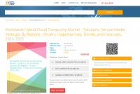 Worldwide Hybrid Cloud Computing Market 2016 - 2022