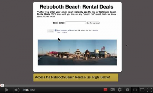 Search Rehoboth Beach rentals for free!'