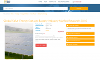 Global Solar Energy Storage Battery Industry 2016