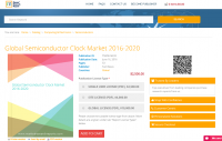 Global Semiconductor Clock Market 2016 - 2020