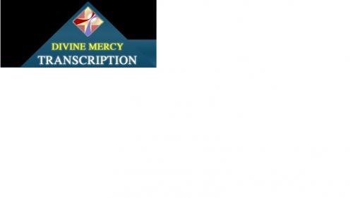 Divine Mercy Medical Transcription'