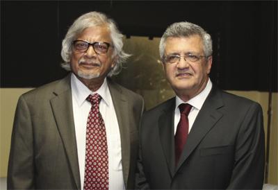 Dr. Arun Gandhi Brazil'