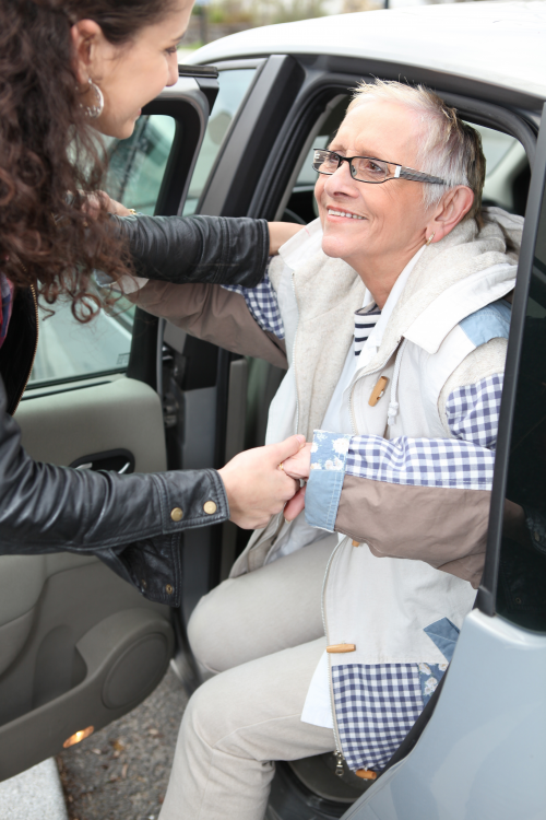 BookSeniorCare pros are available to escort seniors.'