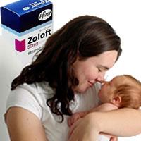 zoloft birth'