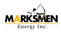 Marksmen Energy Inc. (MKSEF) Logo