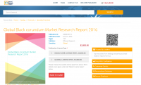 Global Black corundum Market Research Report 2016