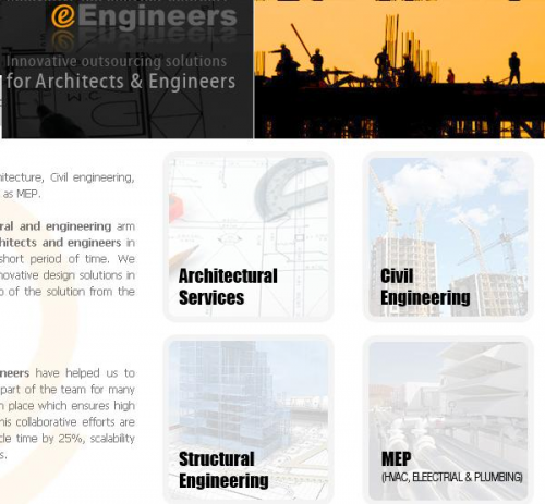 Logo for Architectural and MEP Services, Civil and Structura'
