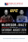 Public House NYC UFC 202 Flyer'