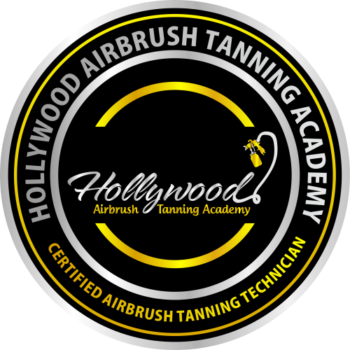 Badge for Certified Airbrush Tanning Technicians'
