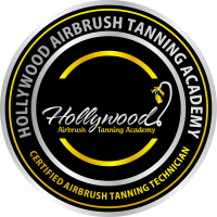 Badge for Certified Airbrush Tanning Technicians