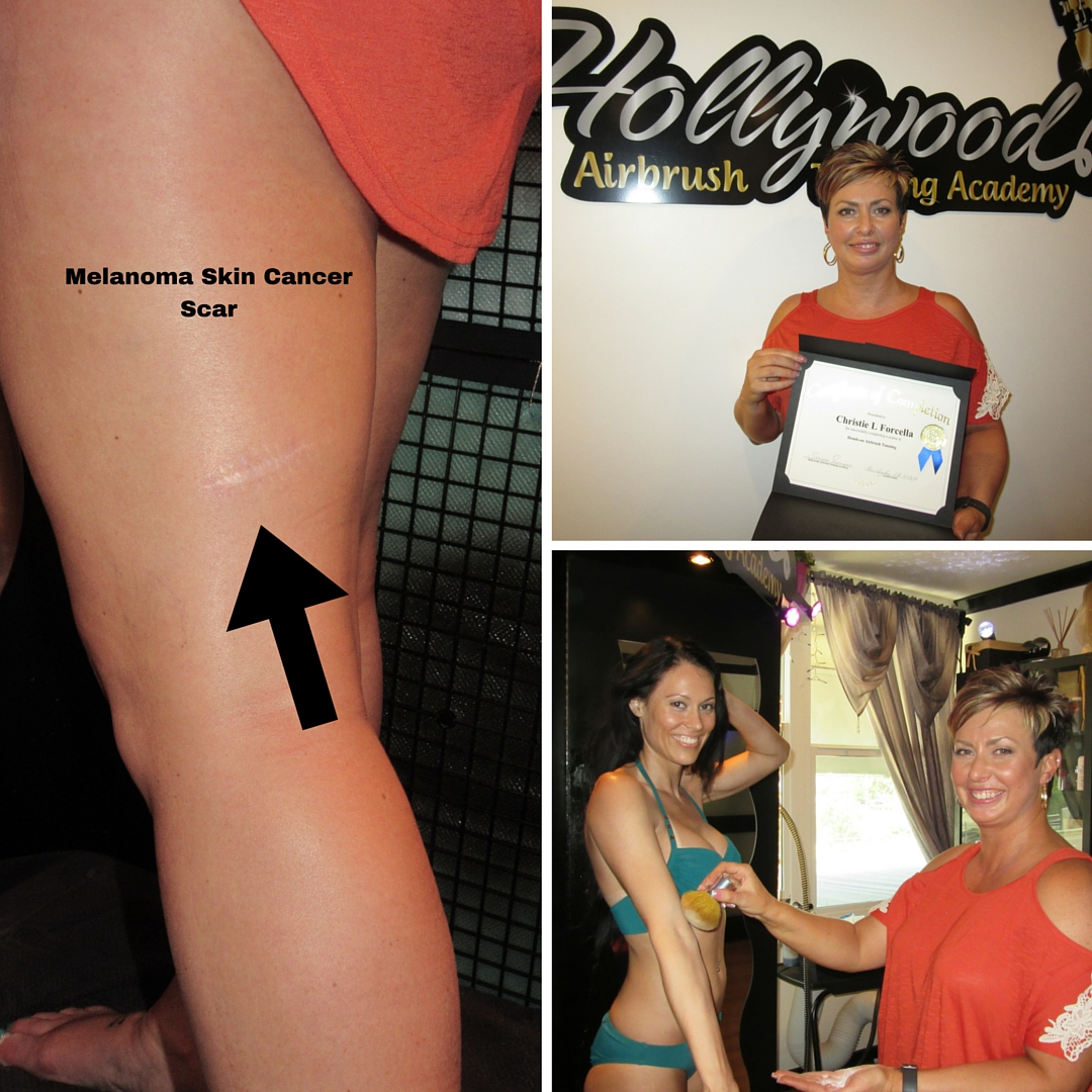 Spray Tanning Class at Hollywood Airbrush Tanning Academy